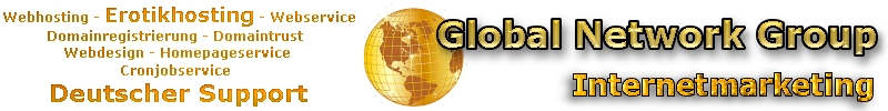 Erotikwebhosting by Global Network Group
